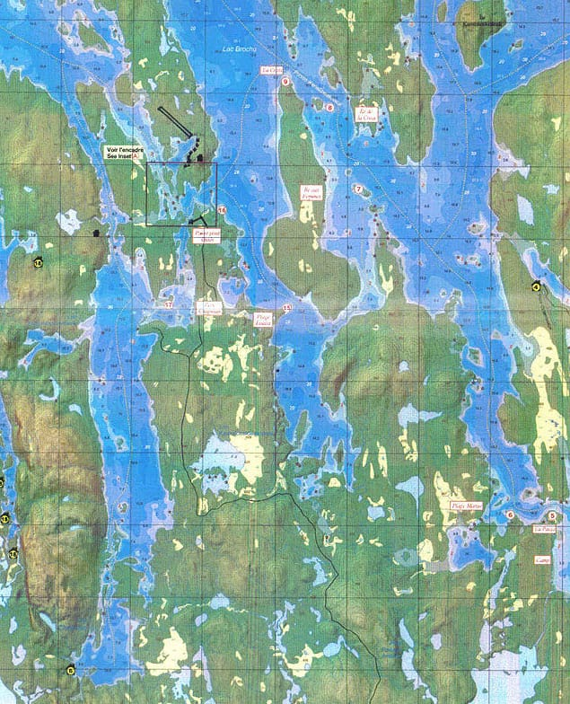 oasis du gouin topographical map