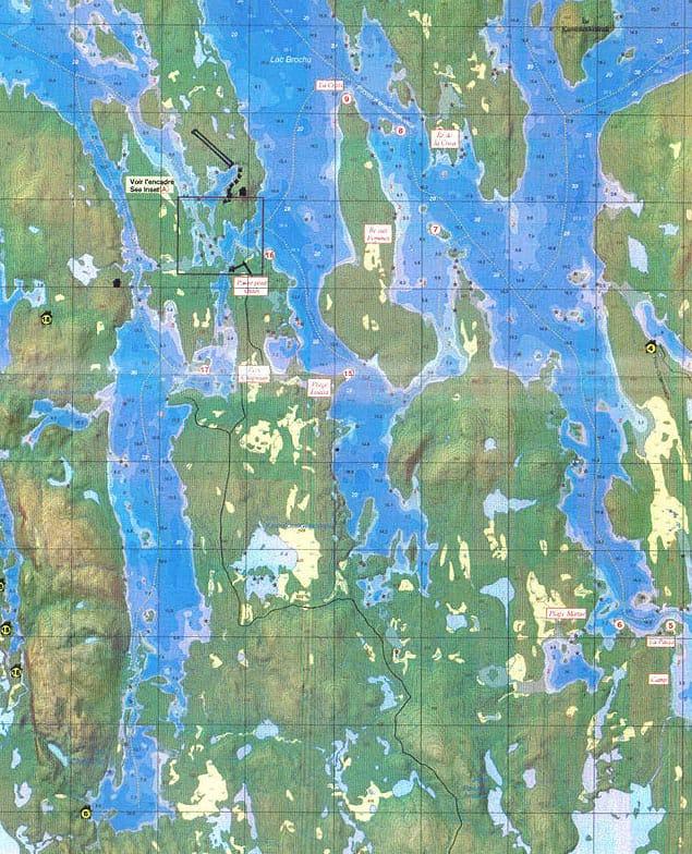 carte topographique oasis du gouin