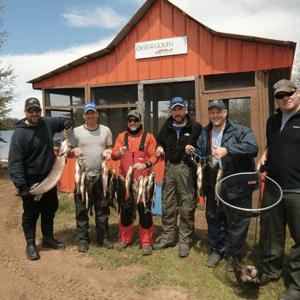 pêcheurs pourvoirie oasis du gouin